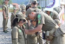 参加2020全国青少年夏令营挑战野外生存!