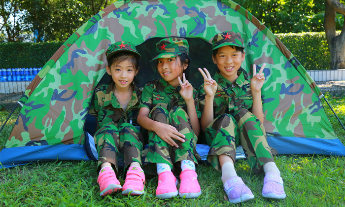 广西军事夏令营露营活动的注意事项