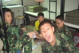 广西黄埔少年军事训练营有哪些?