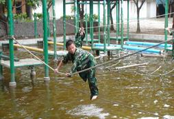 贵阳暑假军训夏令营让青少年的假期充满欢乐