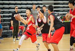 参加2021四川中学生篮球夏令营感受激情暑假!
