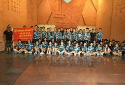 参加2021武汉暑期儿童军训夏令营挑战军营生活!