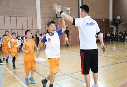 2021年武汉青少年体育夏令营感受篮球的魅力!