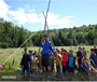加拿大百年营地教育1线-百年童子军营区活动+蒙特利尔教育局主题英语东西海岸三周游学营